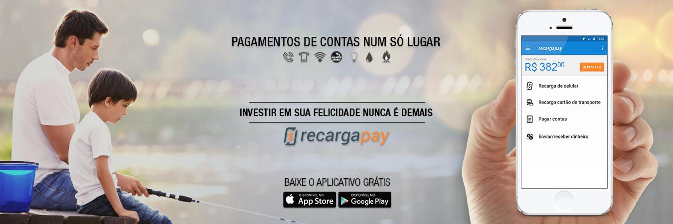 Pagamentos de contas de energia elétrica com RecargaPay