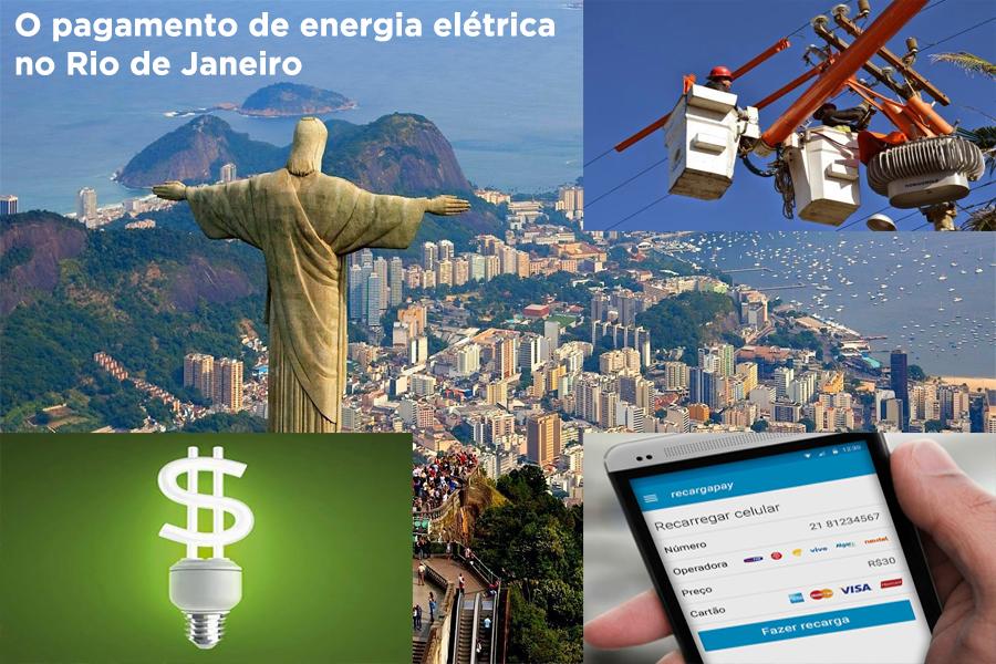 Pagamento eletricidade no Rio de Janeiro!