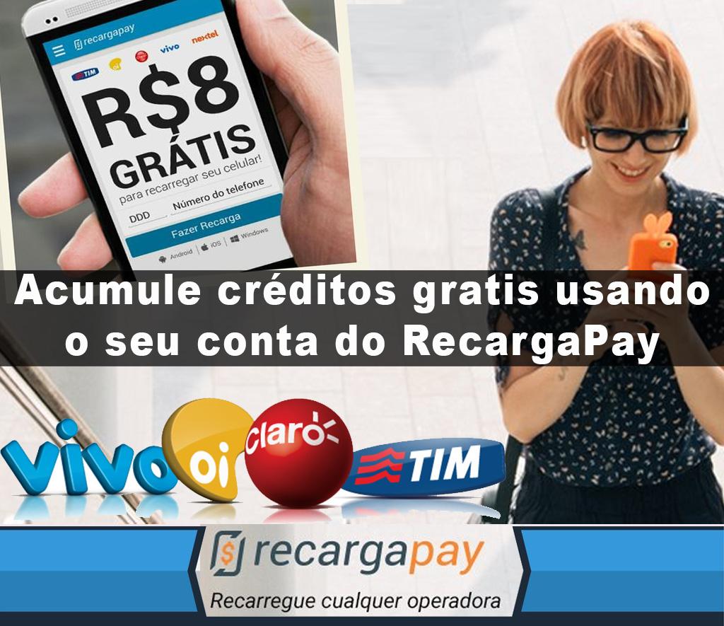 Faça pagamento contas telefone celular e acumule créditos