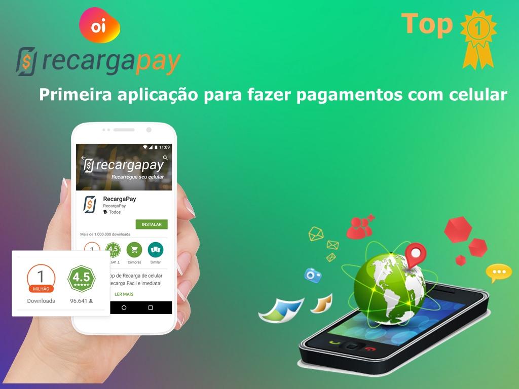 Veja como pagar suas contas pelo celular com o aplicativo RecargaPay