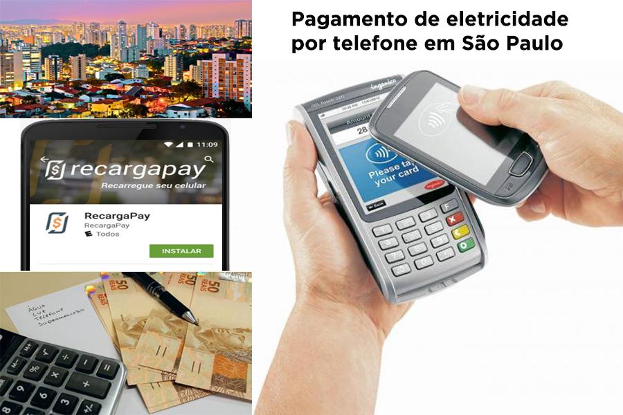 Pagamento de energia elétrica em São Paulo!