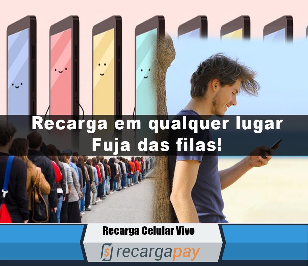 Pagamento contas telefone celular Com RecargaPay