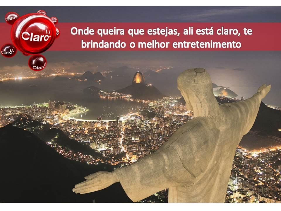 Alcance dos serviços de comunicação Claro em Sao Paulo e Belo Horizonte