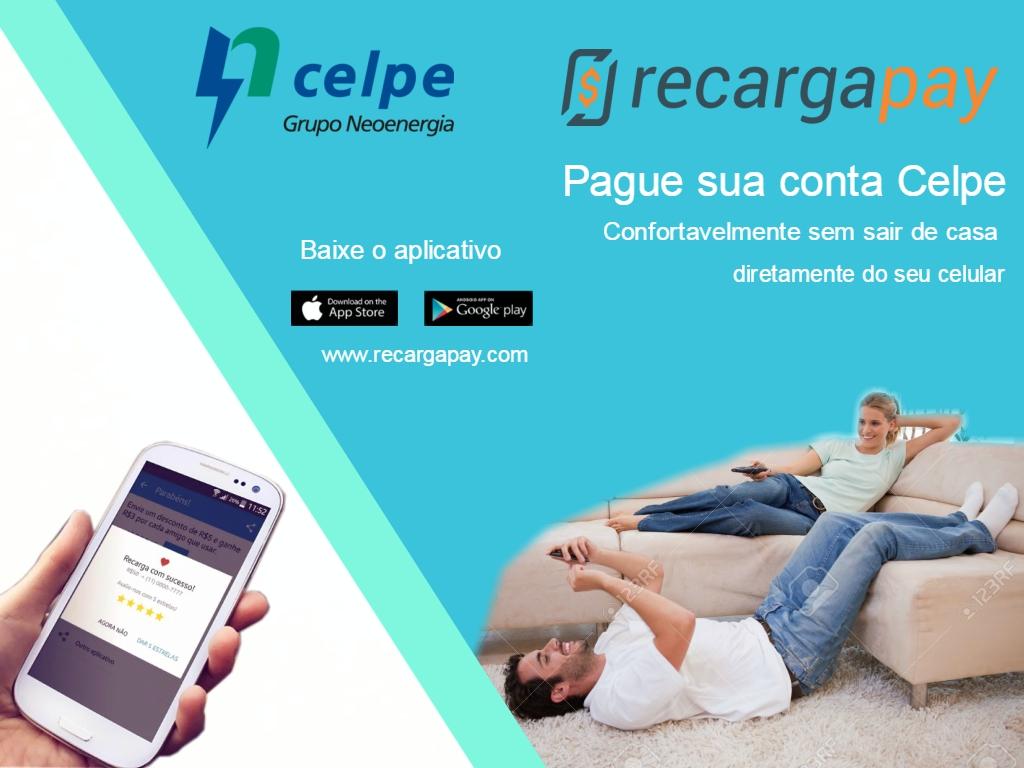 Pagamento conta Celpe com Recargapay