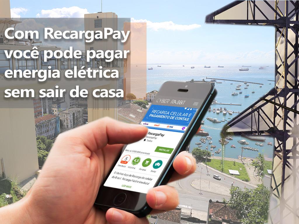 Pague sem sair de casa pelo celular na Bahia