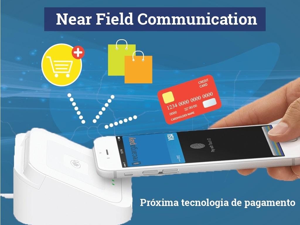 Que você pode fazer com Near field communication