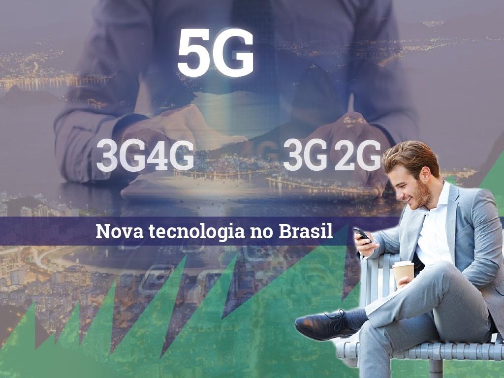 Nova tecnologia 5G que irá melhorar a internet das coisas em Brasil