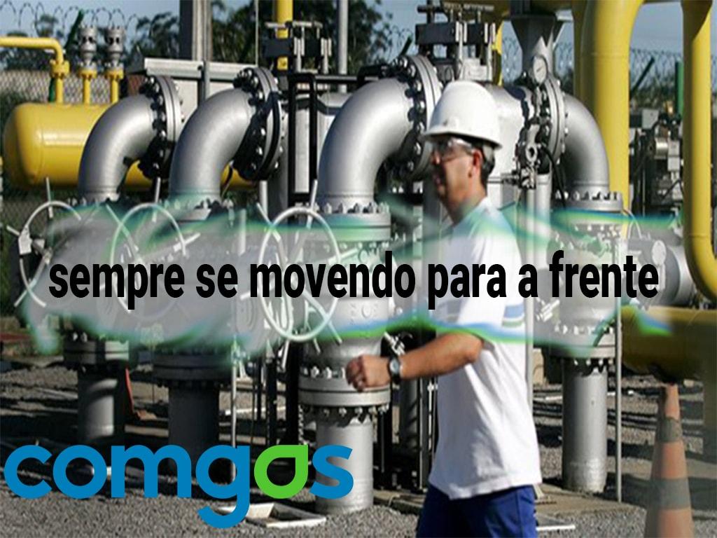 Desenvolvimento da empresa Comgas em São Paulo