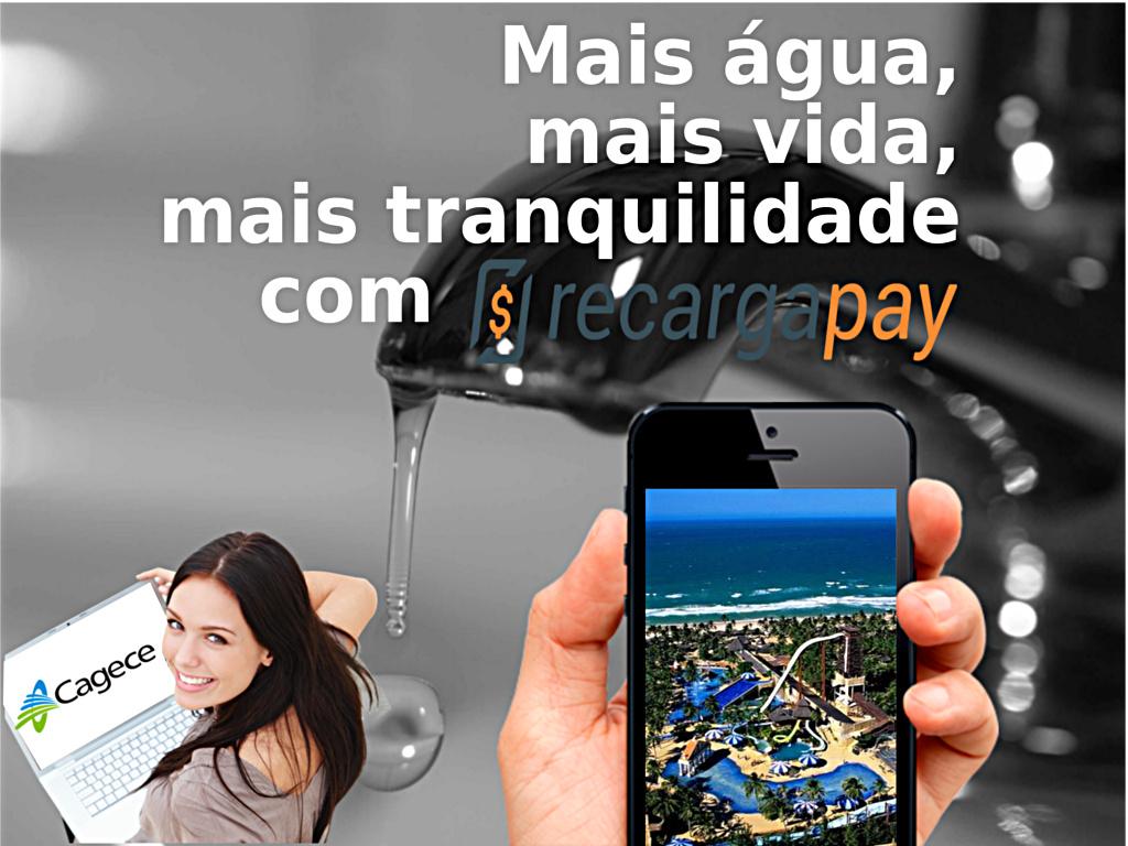 Pague todos seus serviços básicos e água de Cagece pelo celular