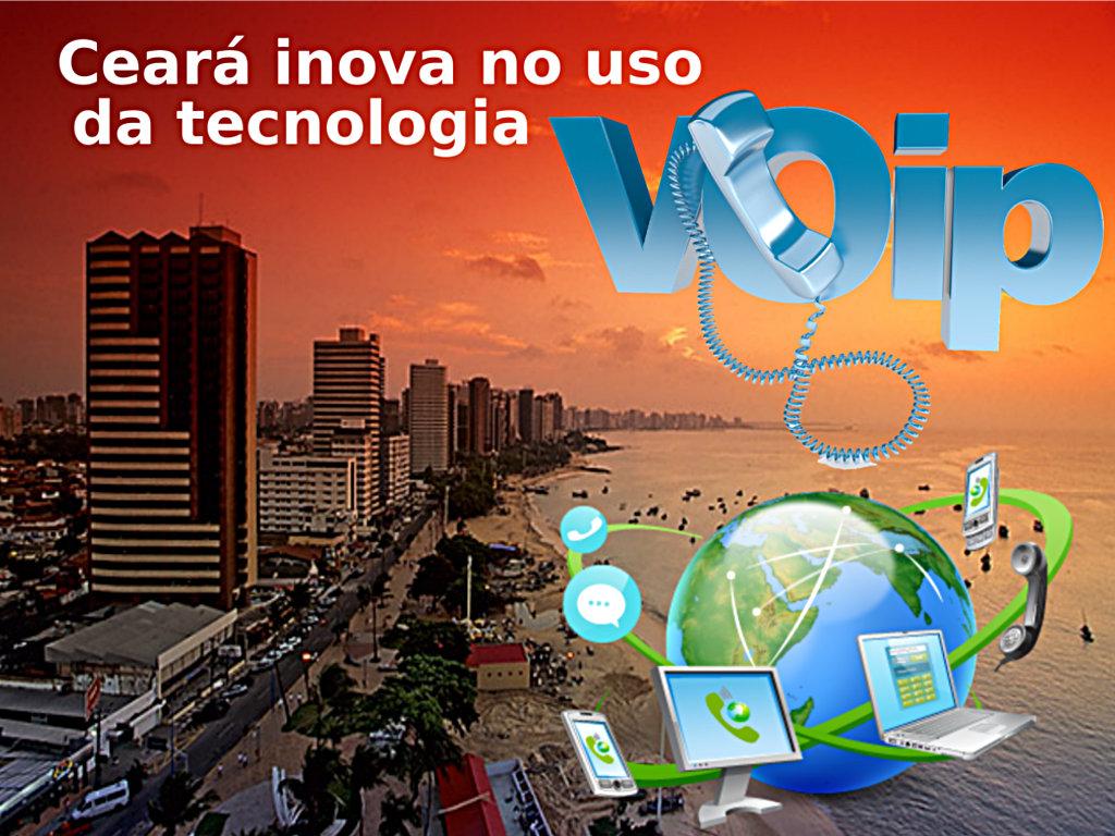 Fortaleza inova no uso da tecnologia VoIP