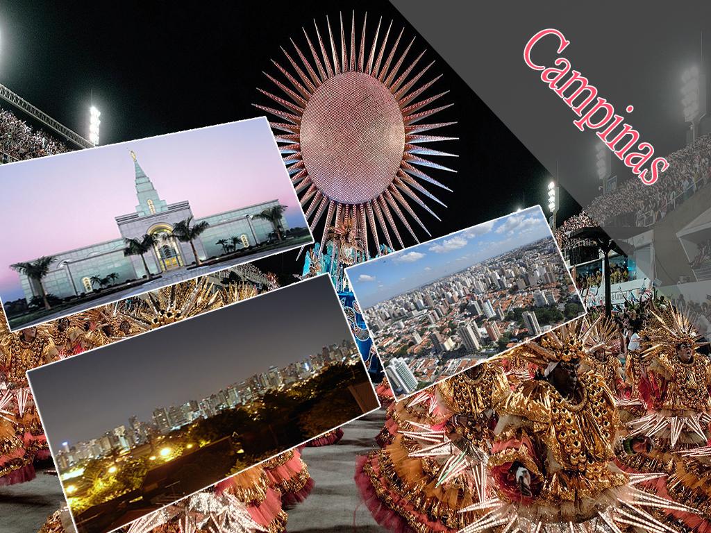 Algumas festividades e zonas turísticas de Campinas