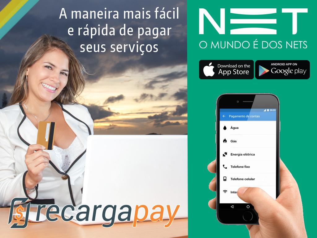 App para pagar conta de Internet NET