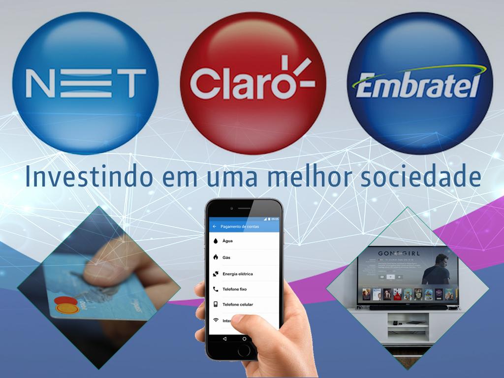 Net, Claro e Embratel investem em uma melhor tecnologia para seus redes
