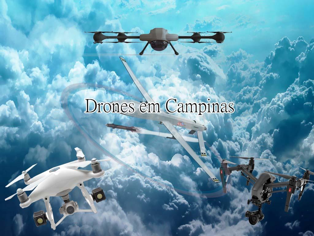 Alguns modelos de Drones em Campinas