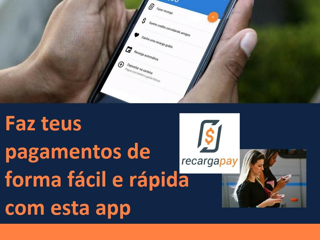 Faz teus pagamentos de forma fácil e rápida com esta app