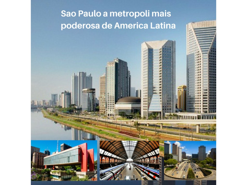 Sao Paulo A urbe mas famosa de Brasil por seus melhores lugares e sistema finaceiro