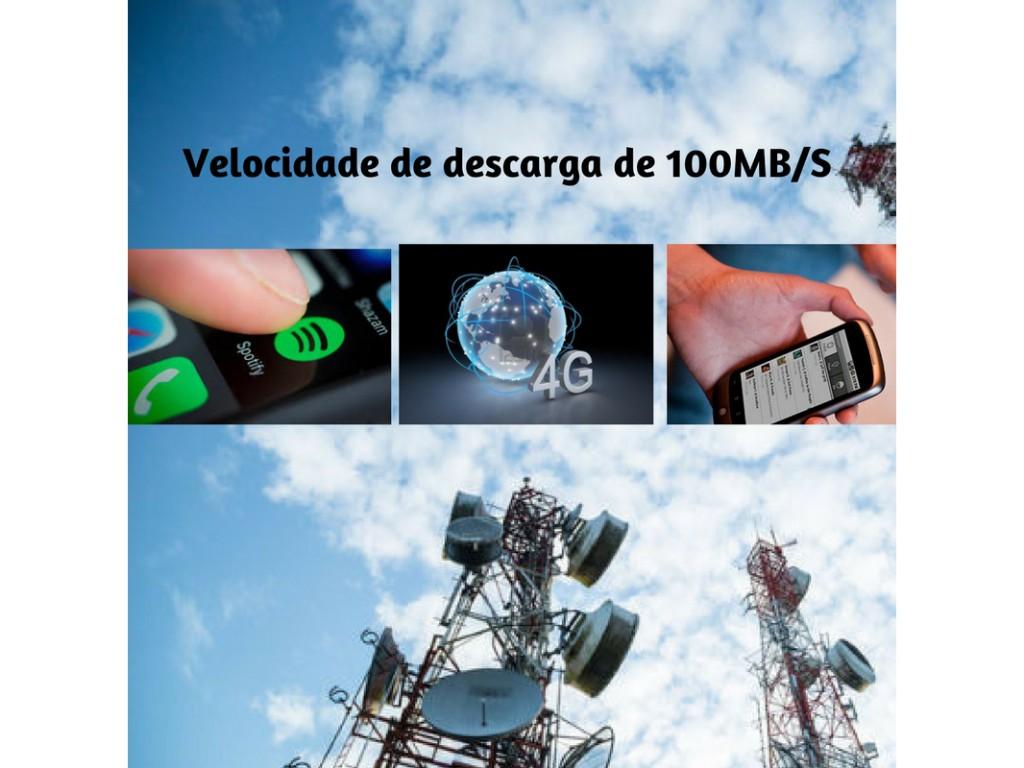 Banda larga 4G aumenta o 120% em um ano em Sao Paulo