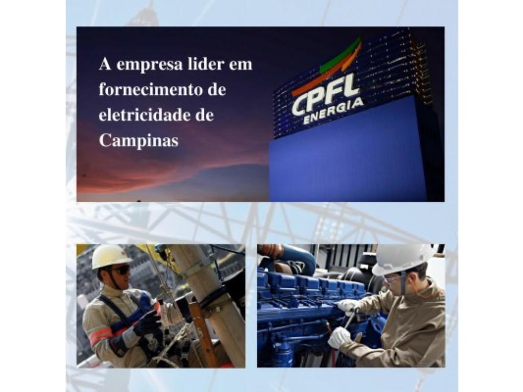 CPLF A empresa lider em fornecimento de luz em Campinas