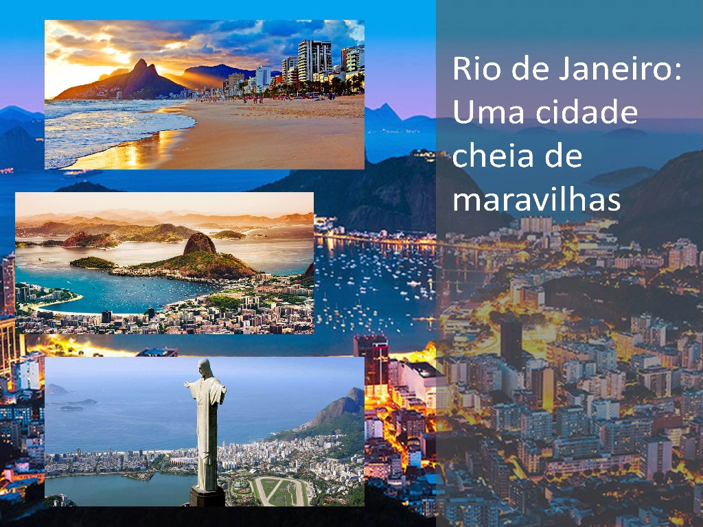 Rio de Jainero é um verdadeiro paraíso para os turistas