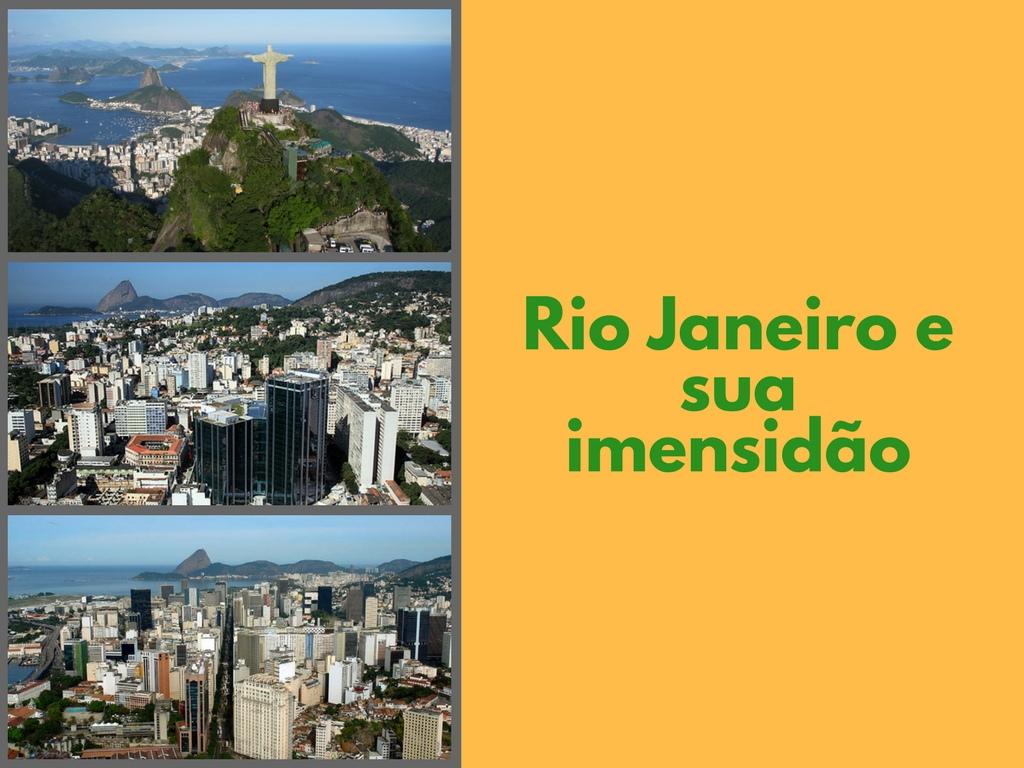 Rio de janeiro é um paraiso para os turistas