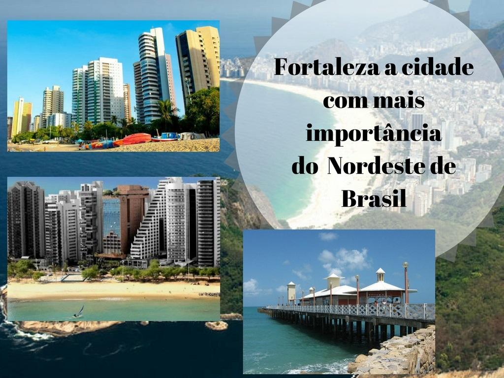 Fortaleza a maior cidade do nordeste do Brasil