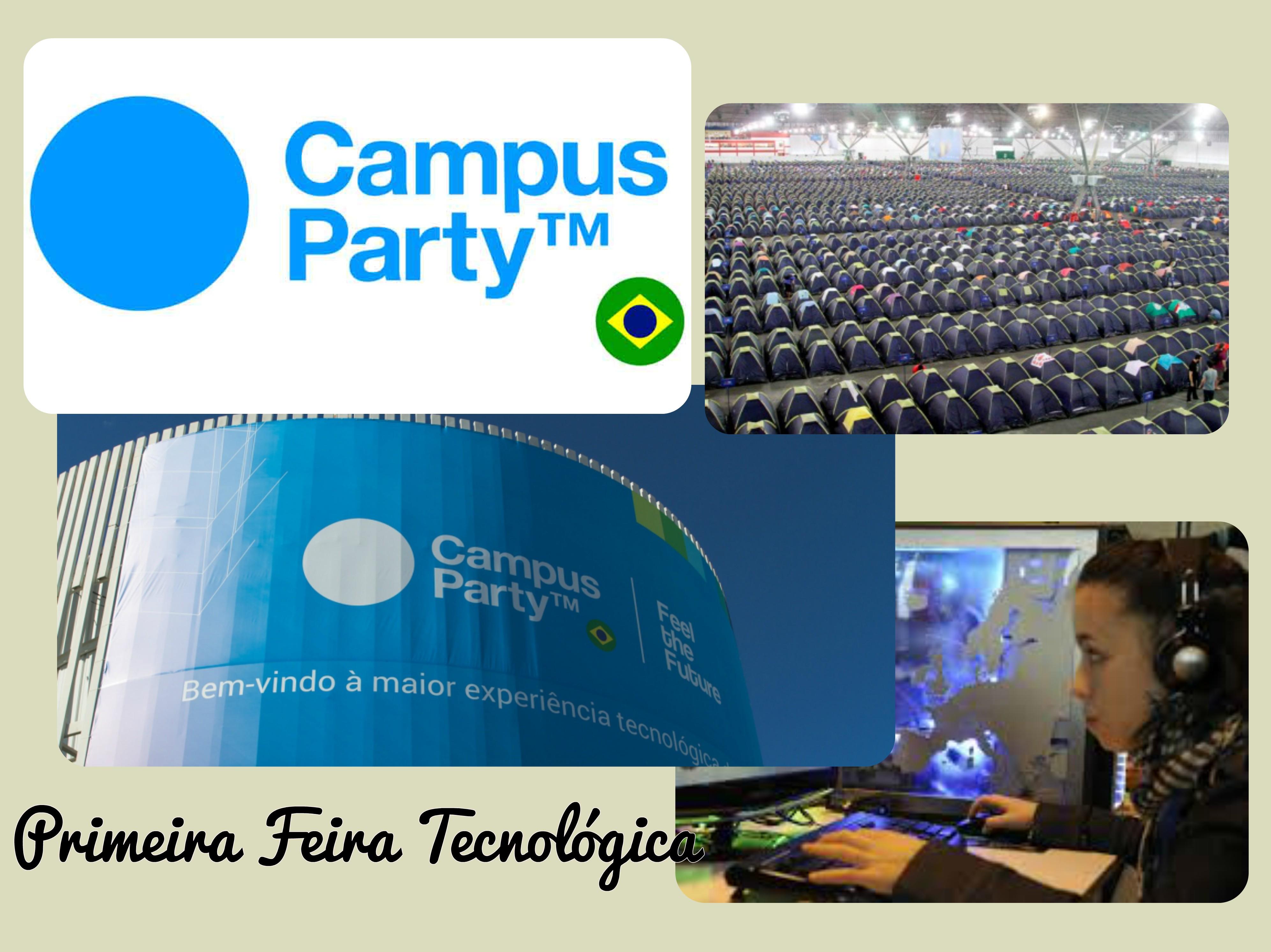 Feira tecnológica Campus party em Salvador de Bahia