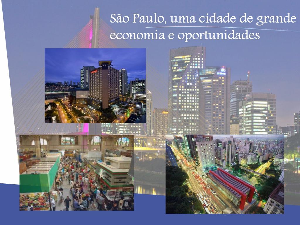 A economia da cidade de São Paulo