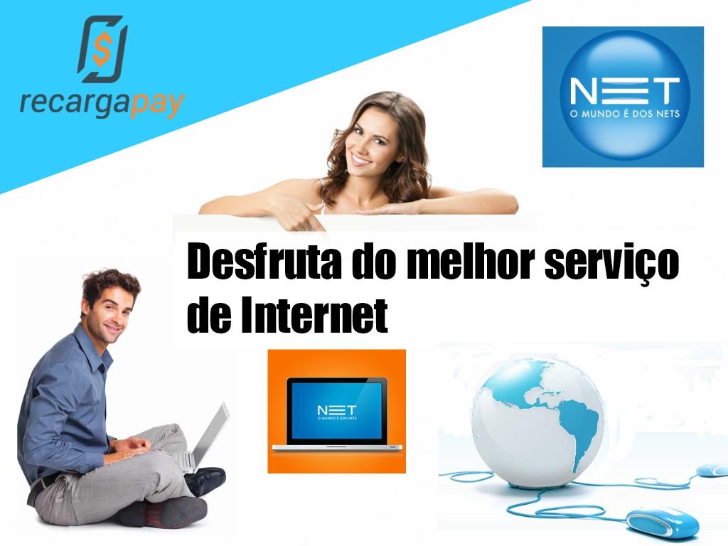 Pague sua conta de Net e desfruta do melhor serviço de internet