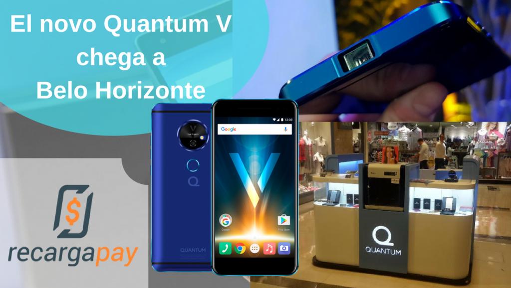 celular quantum V em BH