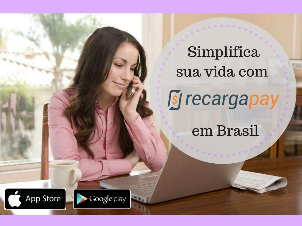 Simplifica sua vida com nossa app RecargaPay