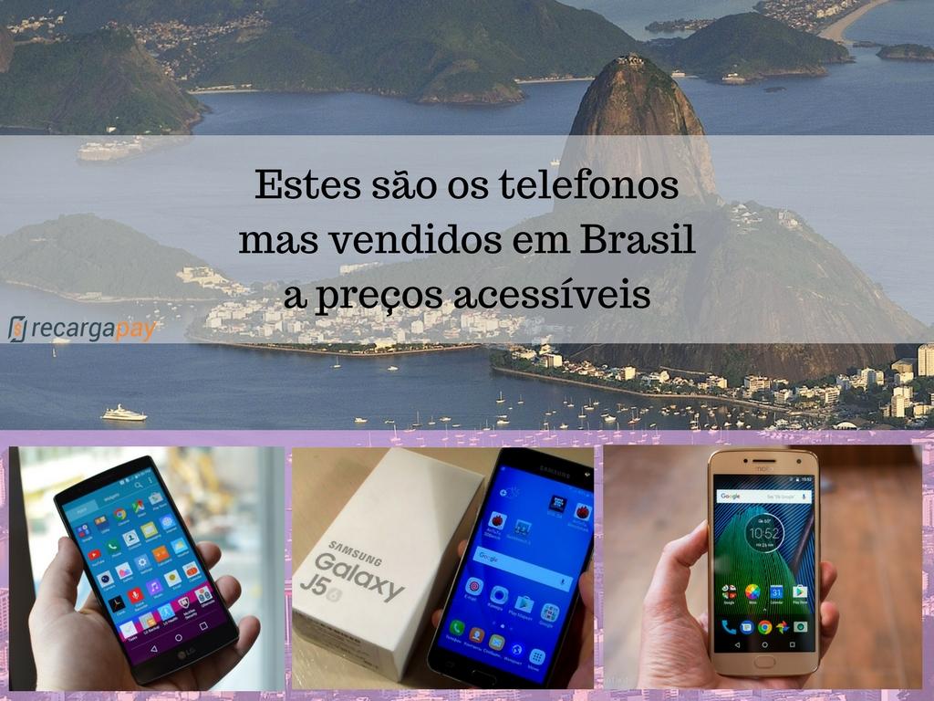 telefonos mas vendidos em Brasil a preços acessíveis