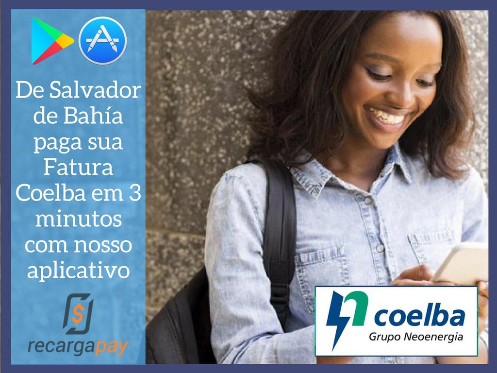 RecargaPay para pagamento Coelba online