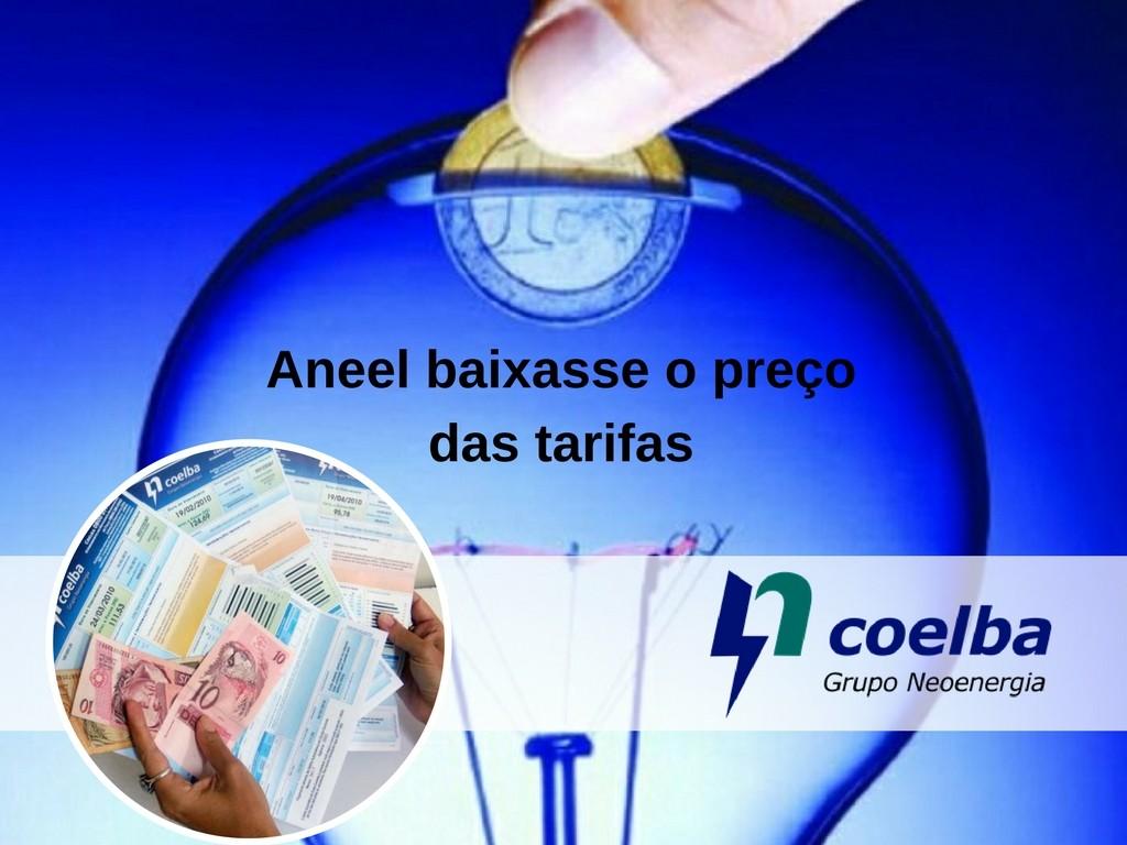 Aneel realiza mudanças em as tarifas