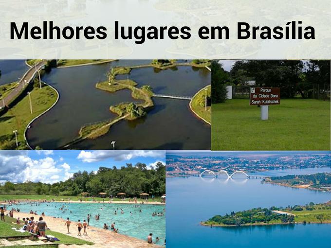 Melhores lugares em Brasília
