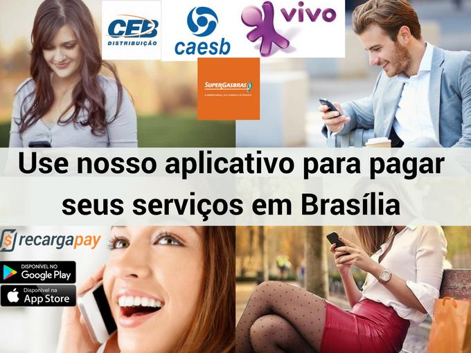 Pagar todos os serviços em Brasília com Recargapay
