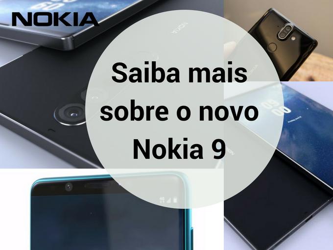 Conheça recursos do Nokia 9