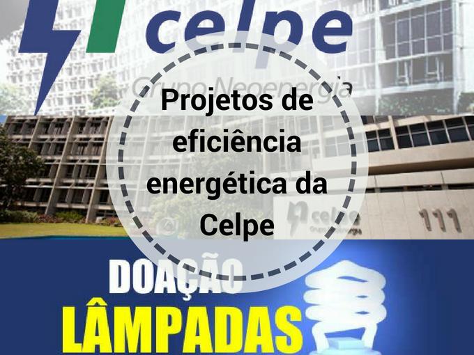 Participe na eficiência energética da Celpe