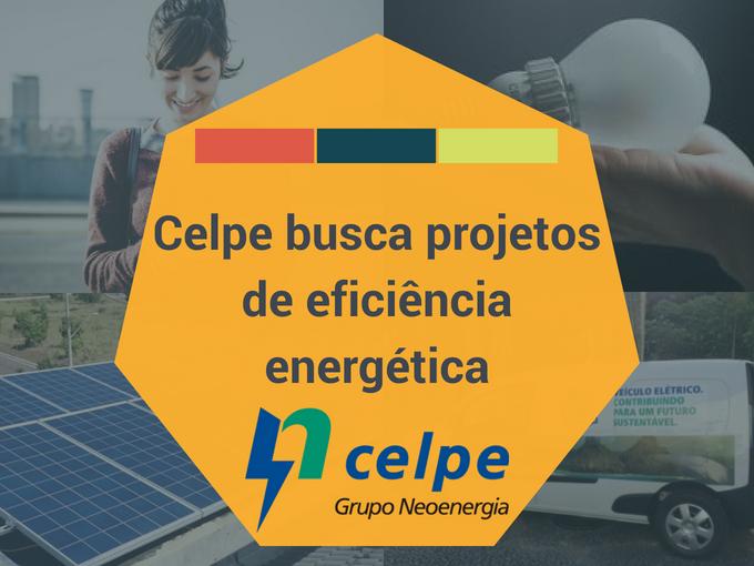 Celpe busca projetos de eficiência energética