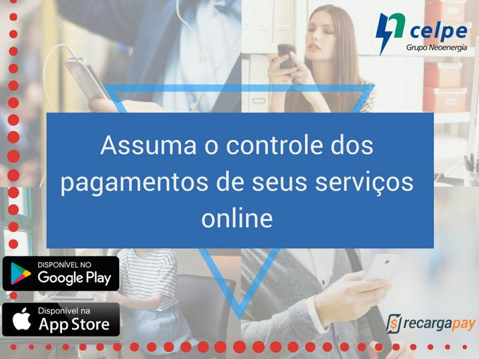 Faça o pagamento da sua conta na Celpe online