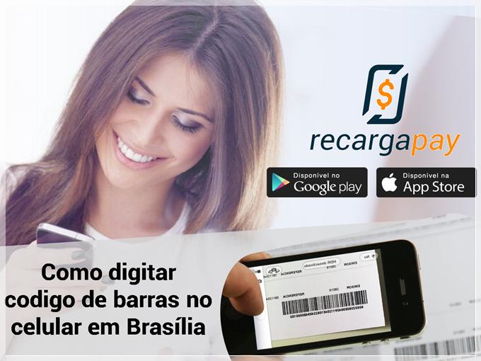 Como digitar codigo de barras no celular em Brasília