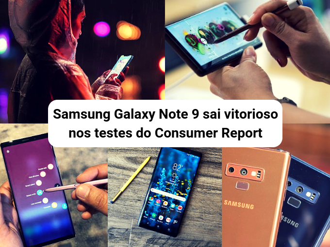 Pague sua Celpe 2 via de conta com Samsung Galaxy Note 9