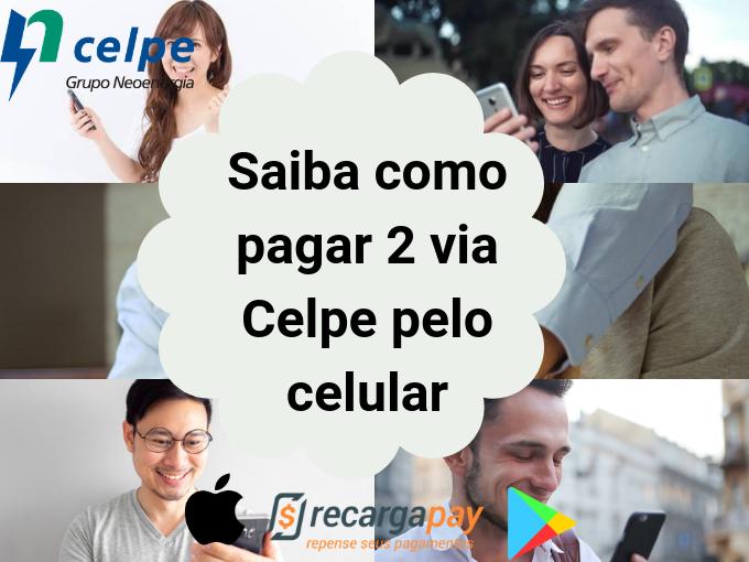 Pagar 2 via Celpe pelo celular