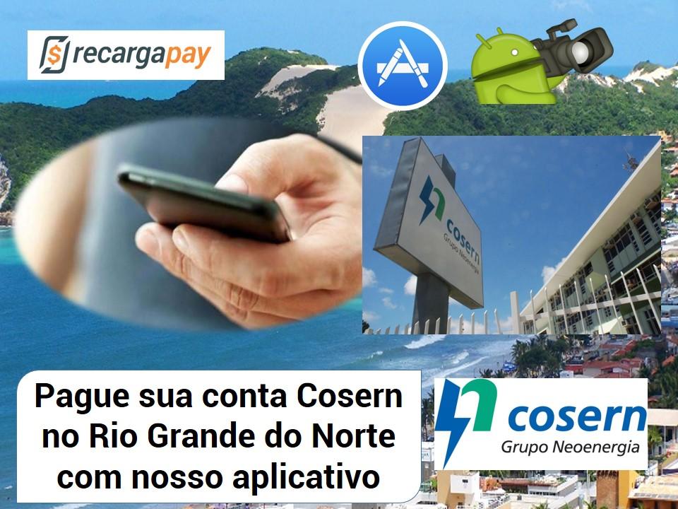 Mantenha sua conta Cosern atualizada com nosso aplicativo
