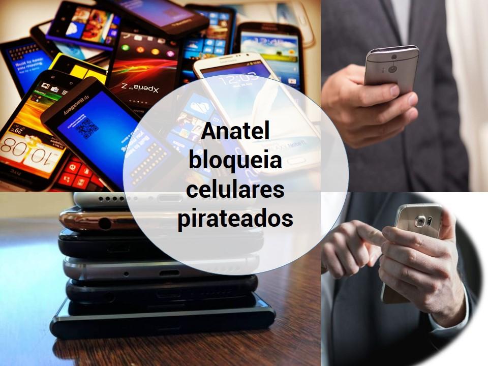 Telefones piratas são bloqueados pela Anatel