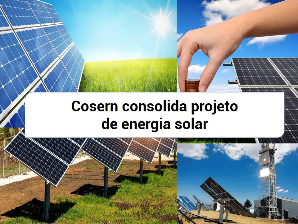Cosern apresenta projetos de energia solar