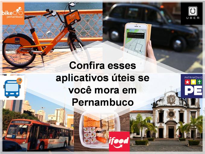 Confira esses aplicativos úteis se você mora em Pernambuco