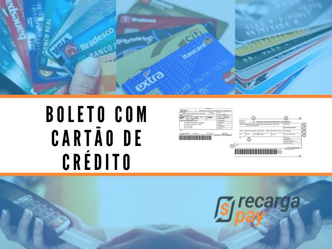 Pague boletos com cartão de crédito