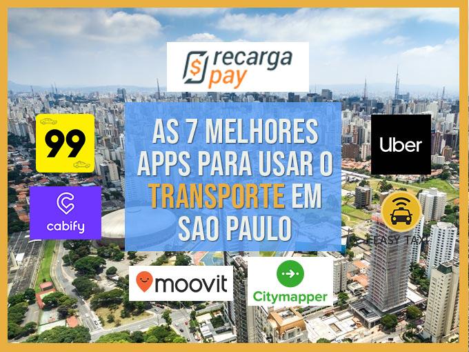 As 7 melhores apps para usar o transporte em São Paulo