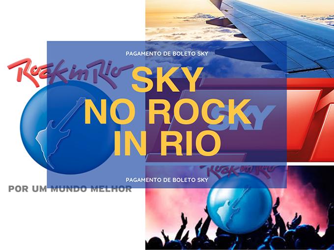Sky leva clientes para o Rock In Rio
