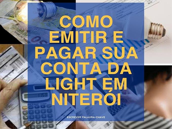 Veja como pagar conta Light em Niteroi